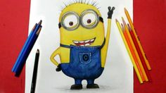 Hey every one watch how to draw Dave the minion from despicable me 2 movie...Subscribe for more videos :)