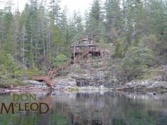 Lot 12 Malaspina Estate – Desolation Sound BC - Ocean Front Get-A-Way – Oceanfront home minutes from Okeover Arm Government Dock (boat access only). Vacation home in picturesque Okeover Arm, the gateway to Desolation Sound. Quality workmanship inside & out. Vaulted ceilings, solid pine interior, wood stove, laminate flooring, & upper loft with 2 spacious bedrooms. Private wraparound sundeck, stairway to Beach. Additional 12×10 deck at the beach overlooking ocean views. Powell River, Waterfront Property, Vaulted Ceilings, Ocean Views, Sunshine Coast, Solid Pine, Vancouver Island, Laminate Flooring, Stairways