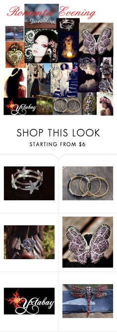 """Romantic Evening"" by yxtabay ❤ liked on Polyvore featuring H&M, Whiteley, jewelry, art, pocpolyvore, shayneofthedead and Yxtabay"