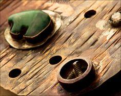 Sterling Silver Aventurine Bear Beaded Belt Buckle - Jewelry by Jason Stroud.