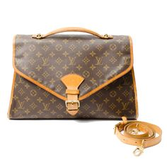 #LouisVuitton brown canvas #BelAir in #Monogram. Available at lxrco.com for $579