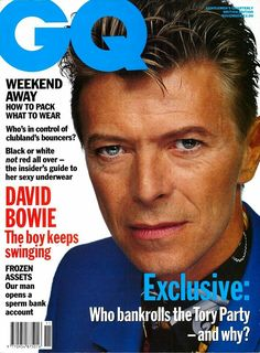 David Bowie - Magazine Covers, 1991.