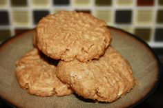 PB Cookie Fibergy- Americans rarely get all the fiber they need so here is a great way to sneak it in!