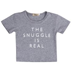 Snuggle is Real Shirt