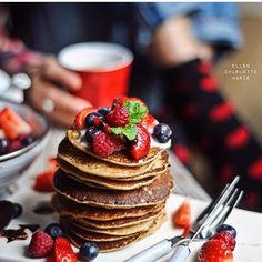 Oh, @ellencharlottemarie , you can make me these pancakes anytime