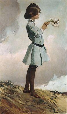 "John White Alexander, ""Geraldine Russel,"" 1902/1903. From the Metropolitan…"