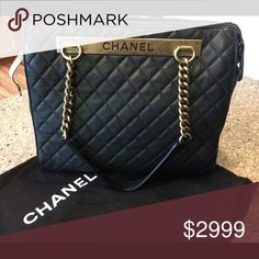 Chanel caviar shopping tote Need to update when I get the chance CHANEL Bags Totes