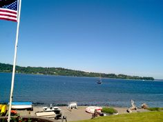 Vashon Island in the summer ... Uploaded with Pinterest Android app. Get it here: http://bit.ly/w38r4m