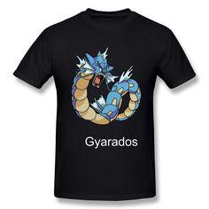 MKSD Funny Pokemon Gyarados Design T-shirt For Men