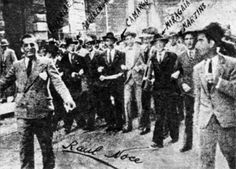 Os mártires que foram o estopim para a Revolução Constitucionalista de 1932: Martins, Miragaia, Dráuzio e Camargo (MMDC).
