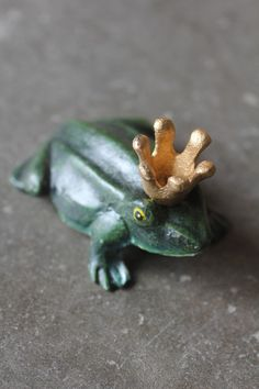 Cast Iron Prince Charming Frog Bottle Opener