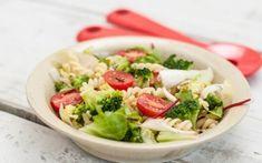Top 11 egészséges tésztasaláta Fusilli, Salad Dressing, Gnocchi, My Recipes, Pasta Salad, Cabbage, Salads, Soup, Vegan