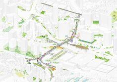 MVRDV gewinnen Wettbewerb in Seoul / Wald auf dem Viadukt - Architektur und Architekten - News / Meldungen / Nachrichten - BauNetz.de