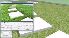 The sketchup users can apply a new scattering extension for Sketchup alias Skatter to produce vegetation inside sketchup.  http://www.sketchup4architect.com/create-vegetation-inside-sketchup-with-skatter.html