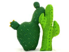 Cactus Pillow Saguaro 20 by CecilClyde on Etsy