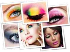 How to Apply Colorful Eye #Makeup for Spring, #stepbystep