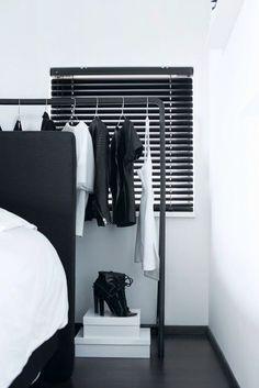 No Closet Solutions and Storage Ideas