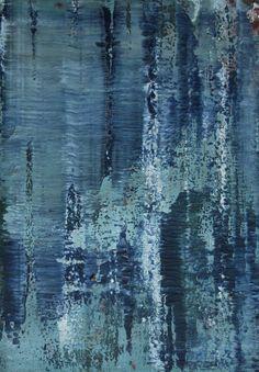 Koen Lybaert; Oil, 2012, Painting abstract N° 468