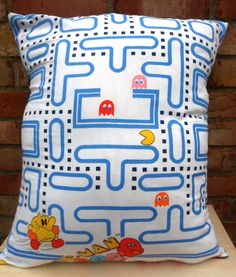 Pacman Pillow by AlienCoutureUK