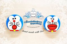 Doraemon on a cupcake 👉🏿✋🏾👆🏾👇DORAEMON✋🏾🖐🏽👀👆🏾👉🏿More Pins Like This At FOSTERGINGER @ Pinterest👌🏾☝🏾👌🏾👌🏻✋🏾