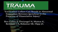 CCollars: Harm or Good by Jon Puryear Research Studies, Critical Care, Trauma, Good Things