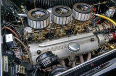 1952 Ferrari 212/225 Barchetta Engine