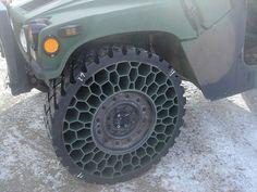 Honeycomb tire won't go flat. I want to test drive.