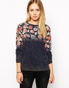 Pepe Jeans Floral Sweatshirt
