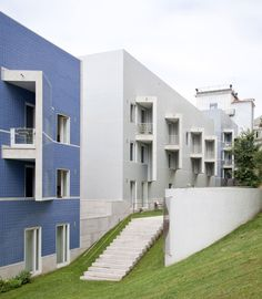 Álvaro Siza . 'Terraços de Bragança' housing complex . Lisbon (9)