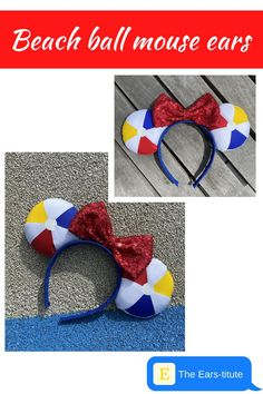 Have fun in the sun in these beach ball mouse ears! Perfect for wearing on a disney cruise, at the pool, or at the disney parks, these summer mouse ears are your best summer accessory. Shop summer styles on Etsy! Disney Cruise Tips, Disney Vacations, Disney Parks, Walt Disney, Disney World Planning, Disney World Trip, Cute Disney Outfits, Beach Ball, Etsy Crafts