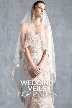 Does anything truly say quot bride quot like a wedding veil check out this