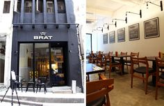 WHITESPACE Hong Kong was engaged to create the brand identity for BRAT - a casual gourmet sausage eatery in Hong Kong.
