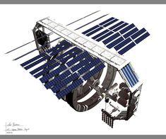 L5 Space Station Asgard by axelbockhorn.deviantart.com on @DeviantArt