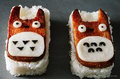 Totoro Spam Musubi - How Cute!!!