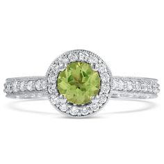 18K White Gold The Redondo Ring from Brilliant Earth