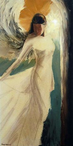 Angel Artwork, Angel Images, Jesus Art, Fantasy Paintings, Painting Inspiration, Painting & Drawing, Cool Art, Art Drawings, Art Gallery
