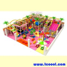 Indoor Soft Playground Naughty Castle