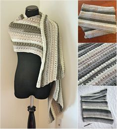 Autumn Chill Super Crochet Scarf - Free Pattern | Diy Smartly