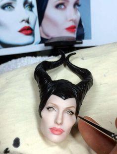 Noel Cruz Doll - Working on Angelina Jolie as Malificent