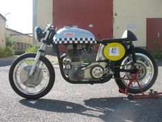 Jawa DT500 caferacer