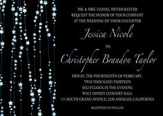 Written In The Stars Customizable Minibook Wedding Invitations In Blue By Laura Bolter Design Star Wedding