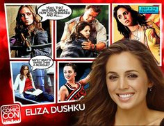 NEW GUEST ANNOUNCEMENT / We're very excited to announce Eliza Dushku as a guest of Salt Lake Comic Con 2014 in September! Eliza Dushku, a Joss Whedon favorite, is known for her roles as Faith on Buffy The Vampire Slayer and its spinoff series Angel as well as starring in two Fox series, Tru Calling and Dollhouse. She is also known for her roles in films, including True Lies, The New Guy, Bring It On, as well as her voice work on video games and Batman. CLICK TO LEARN MORE ABOUT ELIZA.