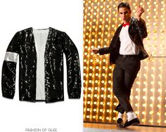 For Glee's Michael Jackson tribute, Blaine finds himself decked out in one of the King's most iconic outfits - the Billie Jean outfit. There are dozens of good replicas out there, but this was the...