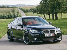 Black BMW M5