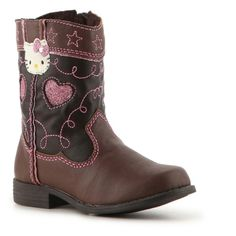 Hello Kitty Josie Girls' Infant & Toddler Western Boot ($35) found on Polyvore