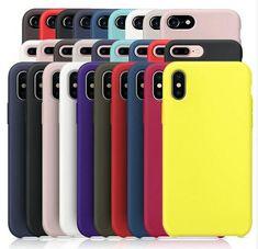 Iphone 8 Için orijinal LOGO Silikon Kılıf Var Artı Için Apple Için iPhone 7 Artı Telefon Kapak iphone X 6 S 6 Artı Perakende kutu
