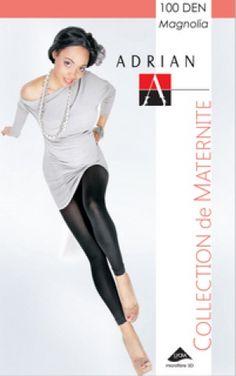 Legginsy MAGNOLIA. Kolekcja ciążowa. Gładkie legginsy kryjące niezwykle delikatne i przyjemne w noszeniu.