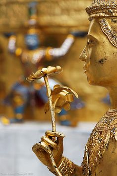 Thailand, Bangkok, Grand Palace: mythological creatures | Flickr - Photo Sharing!