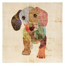 Adorable Doxie Puppy Art! <3