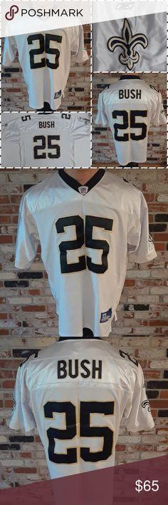 768899d2af5 Reebok NFL New Orleans Saints Reggie Bush Jersey Good Condition!! Reebok NFL  New Orleans